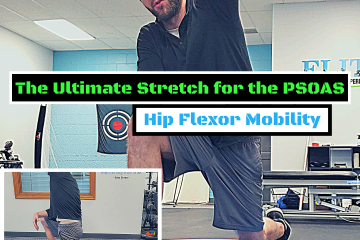 Exercise video of a hip flexor stretch.